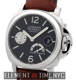 Stainless Steel Date Power Reserve 40mm