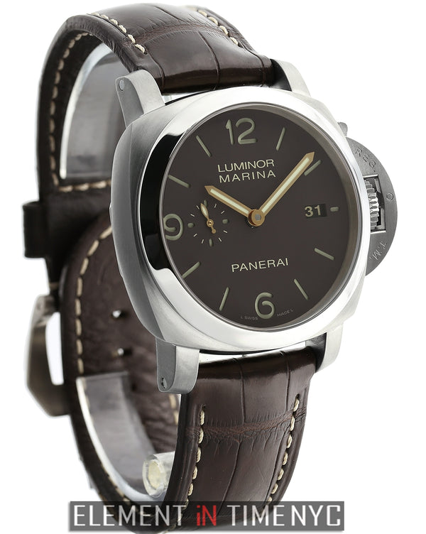 Luminor 1950 44mm Titanium Brown Dial M Serial 2010