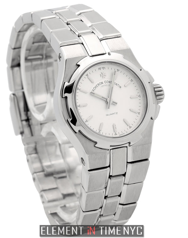 Stainless Steel 24mm Silver Dial Quartz