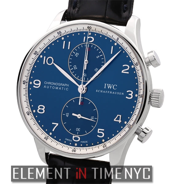 Portuguese Chronograph Laureus Limited Edition 2009