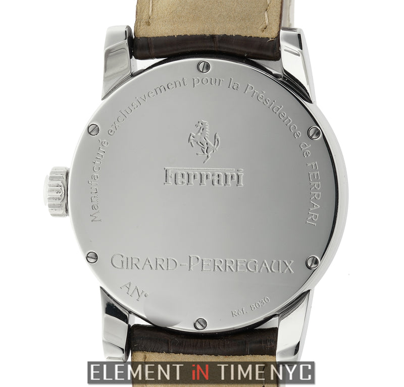Stainless Steel 38mm Silver Dial Automatic