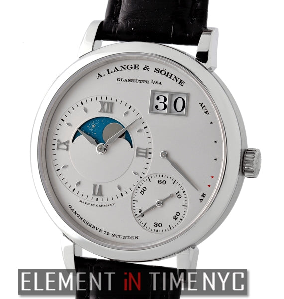 Grande Lange 1 Moonphase Platinum 41mm