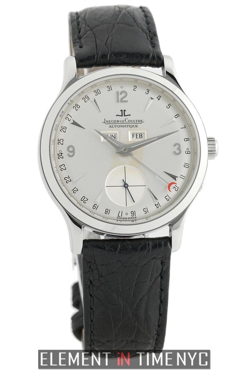 Master Calendar Stainless Steel 37mm Silver Dial