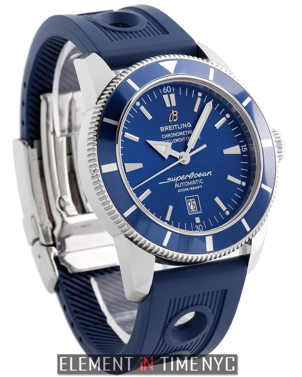 Heritage 46 Stainless Steel Blue 46mm