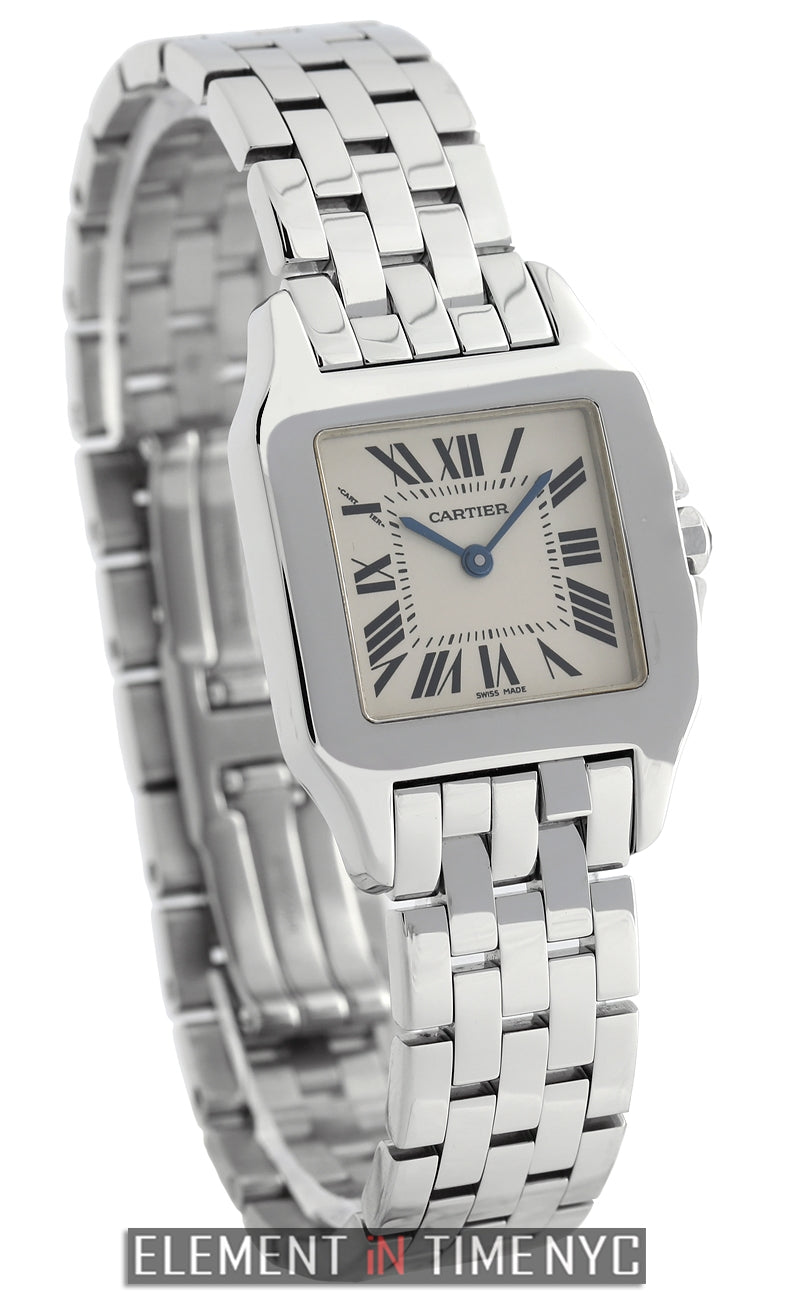 Santos Demoiselle Large 28mm Stainless Steel