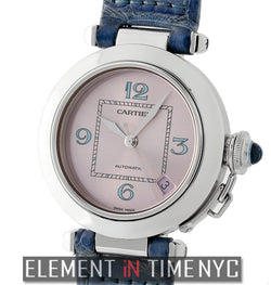 Pasha C Stainless Steel 35mm Pink Dial