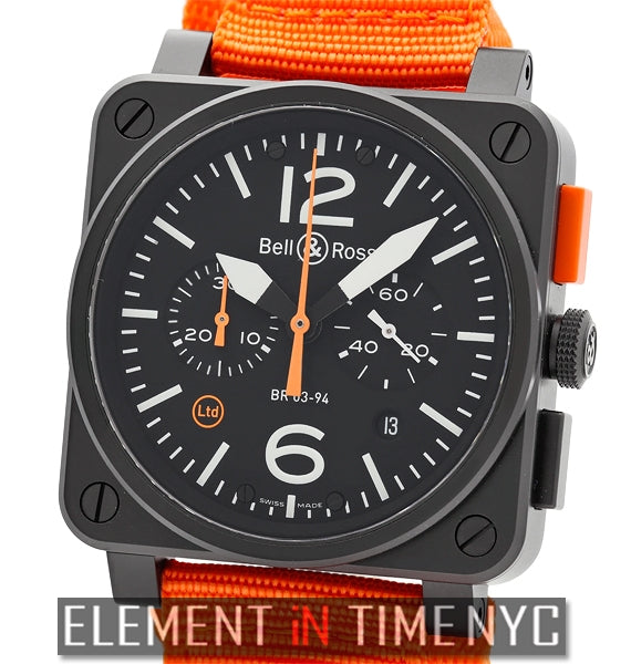Carbon Orange Chronograph Limited Edition 250 Units