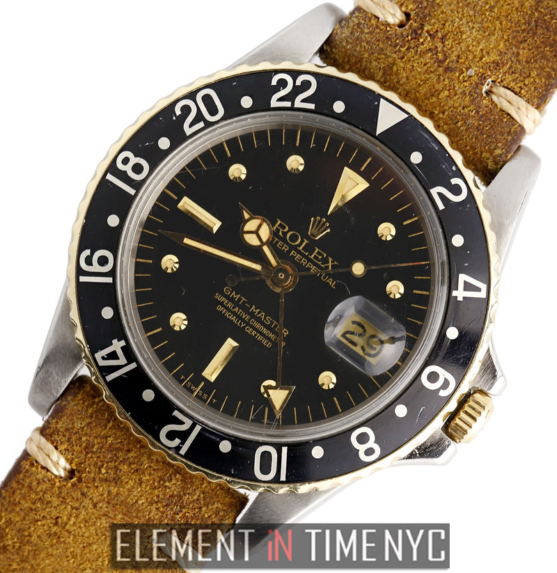 Vintage GMT-Master Steel & Gold Nipple Dial Circa 1966