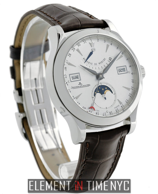 Master Calendar Moonphase Stainless Steel 40mm