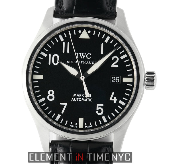 Mark XVI 39mm Stainless Steel Black Dial