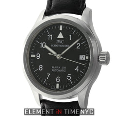 Mark XII Steel Black Dial 36mm Deployment