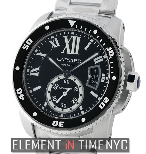 Calibre de Cartier Diver Stainless Steel 42mm