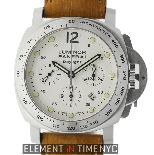 Luminor Daylight Chronograph 44mm Ivory Dial K Series 2008