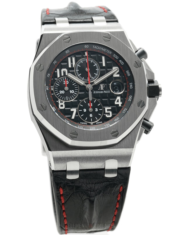 Chronograph Vampire Steel Black Dial 42mm