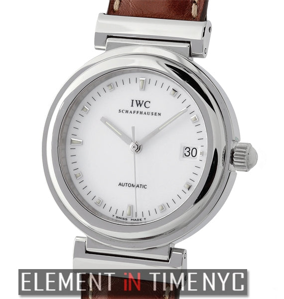 Stainless Steel Date White Dial 37mm