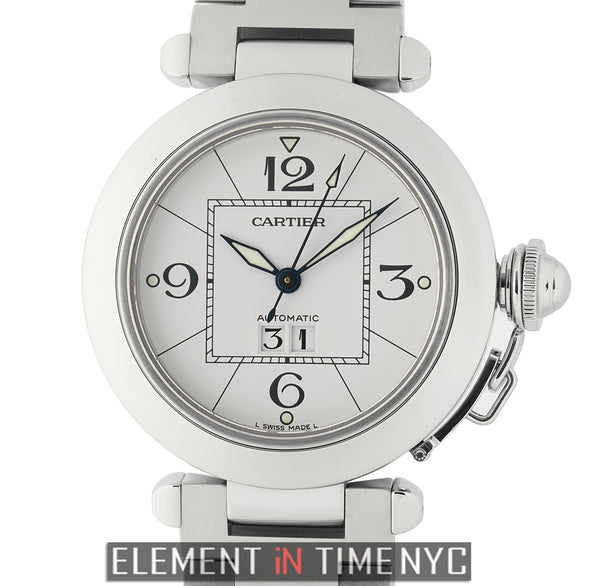 Pasha C Stainless Steel 35mm White Dial