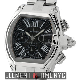 Roadster Chronograph Stainless Steel Black Dial