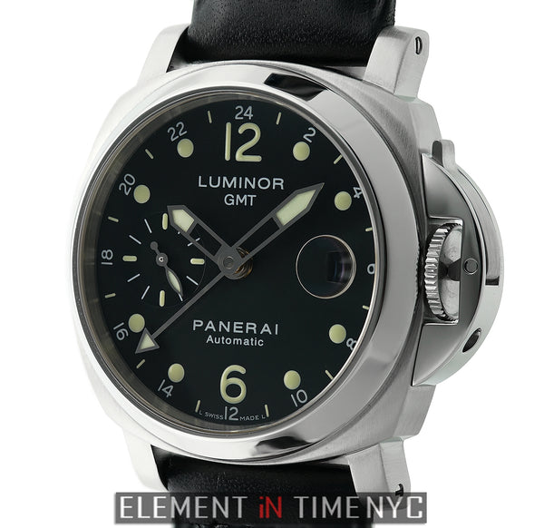 Luminor GMT 40mm Stainless Steel Black Dial F Series 2003