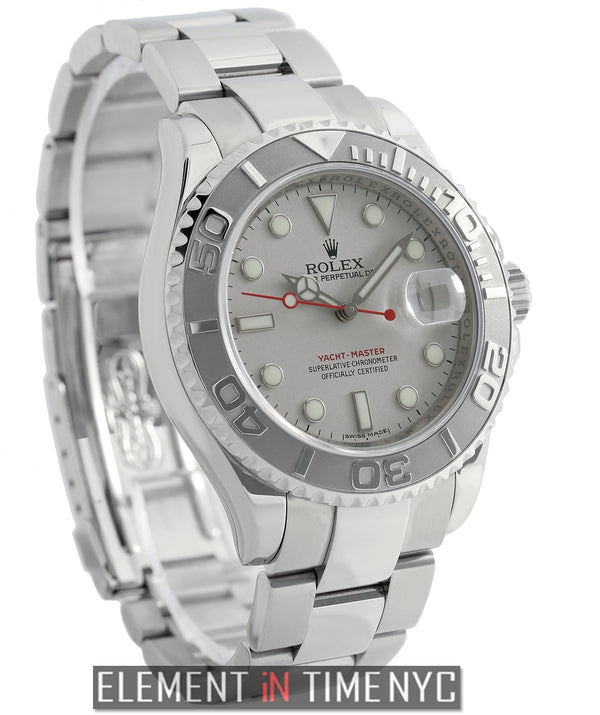 Stainless Steel Platinum Bezel 40mm 2008