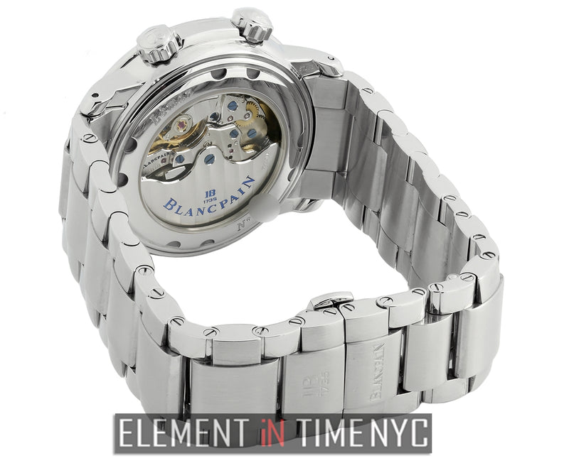 Reveil GMT Stainless Steel White Dial