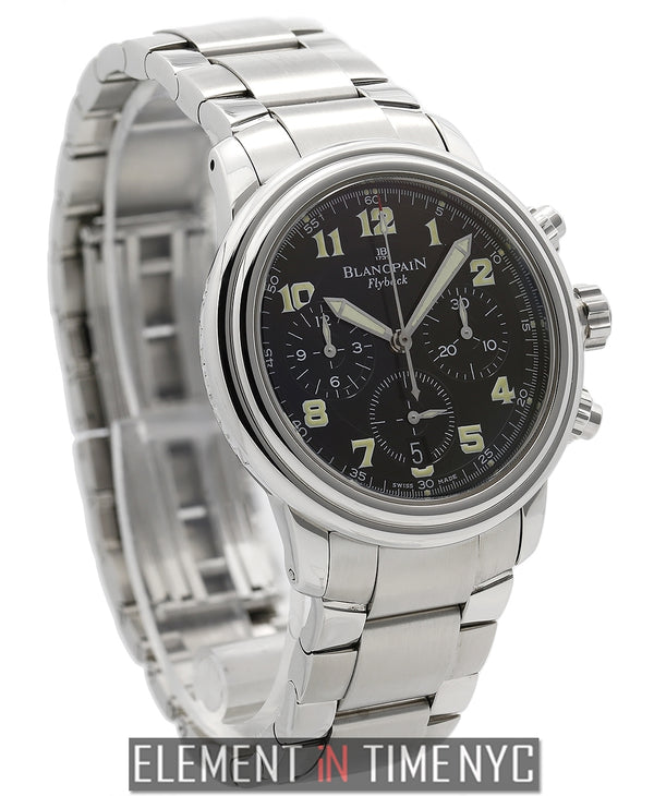 Flyback Chronograph Stainless Steel Black Dial 1999