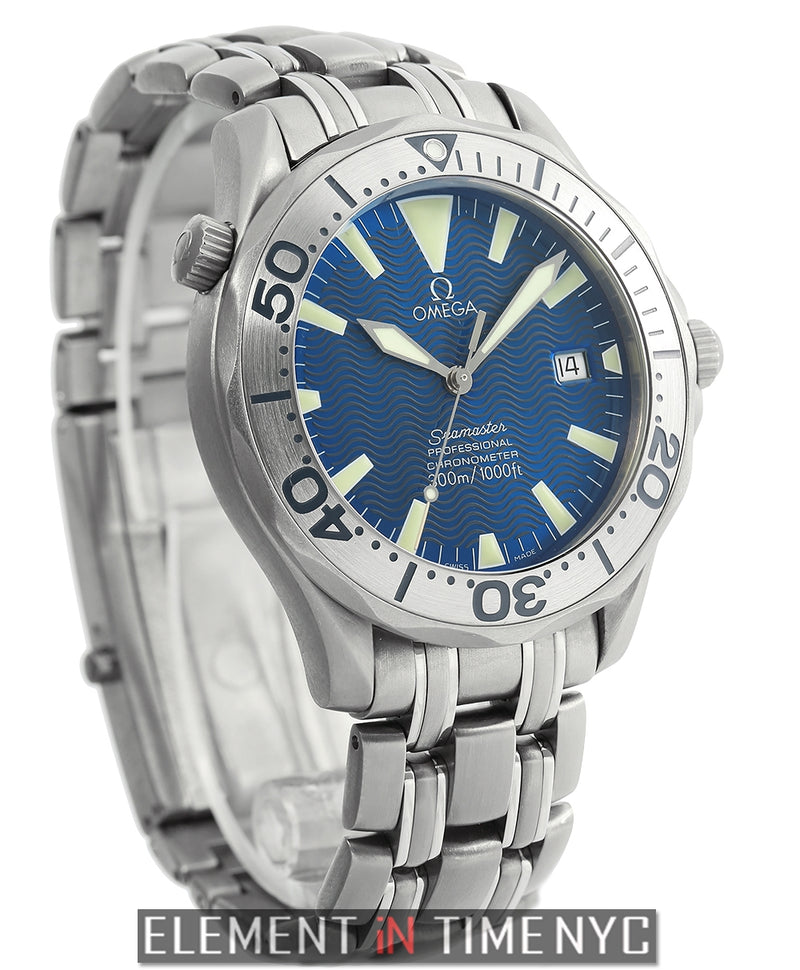 Titanium Blue Dial 41mm Automatic