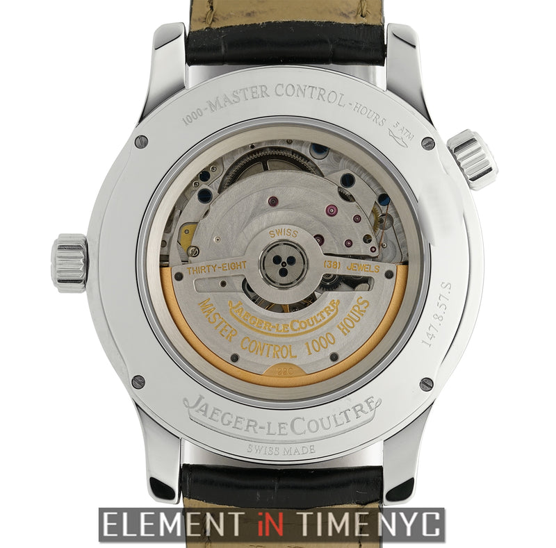 Master Geographic 40mm Stainless Steel Silver Dial