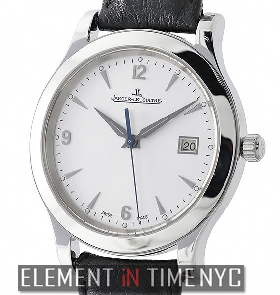 Date Stainless Steel 40mm Silver Dial