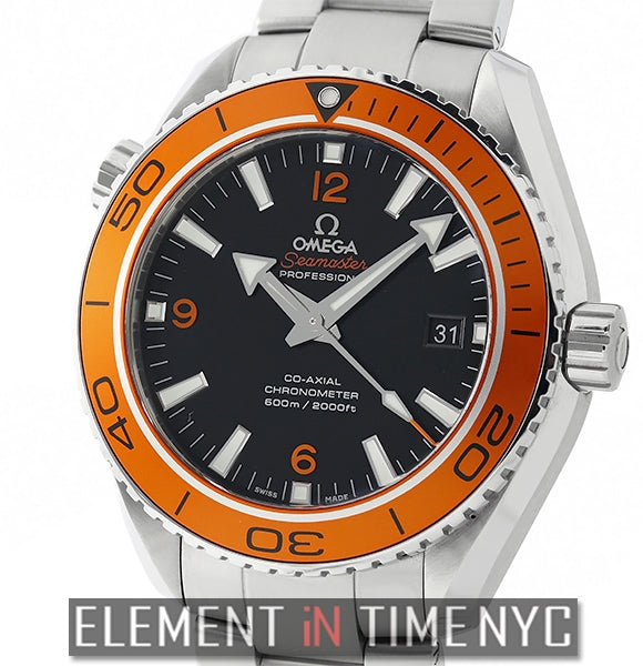 Planet Ocean 600 M Co-Axial 46mm Orange Bezel Cal. 8500
