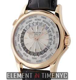 World Time 18k Rose Gold 40mm 2013