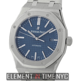 Stainless Steel 41mm Blue Dial Boutique Edition