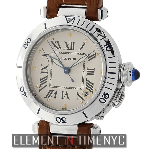Pasha 35mm Stainless Steel Beige Dial Automatic