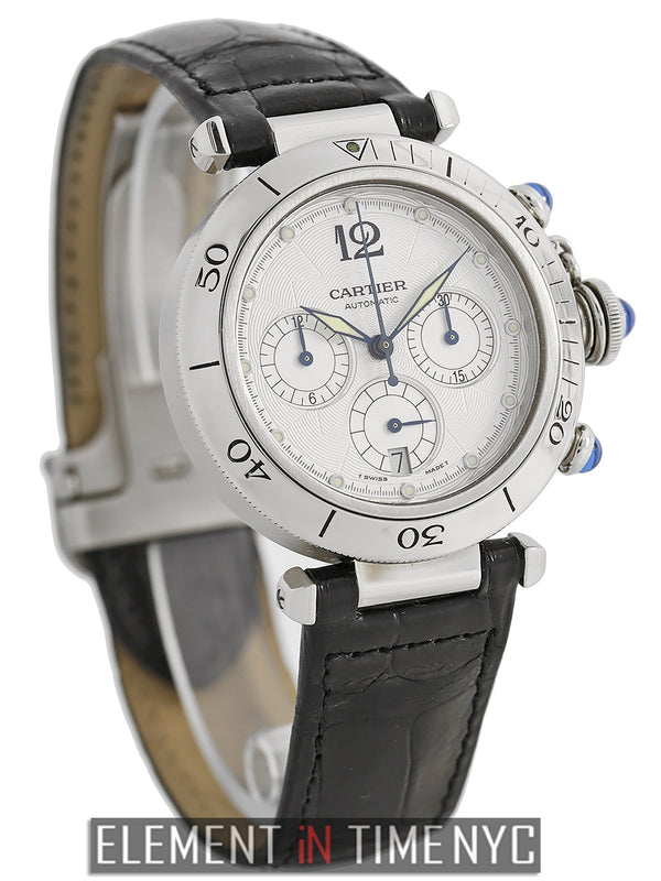Pasha 38mm Chronograph Stainless Steel
