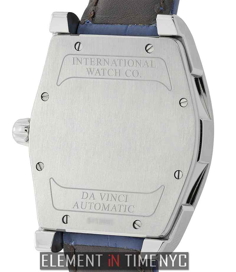 Da Vinci Big Date Small Stainless Steel Silver Dial 36mm