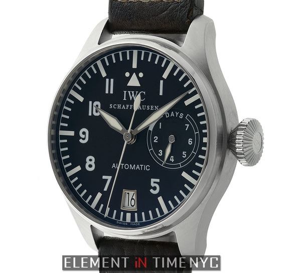 Big Pilot 7 Day Steel 46mm Slow-Beat Movement Fish Crown