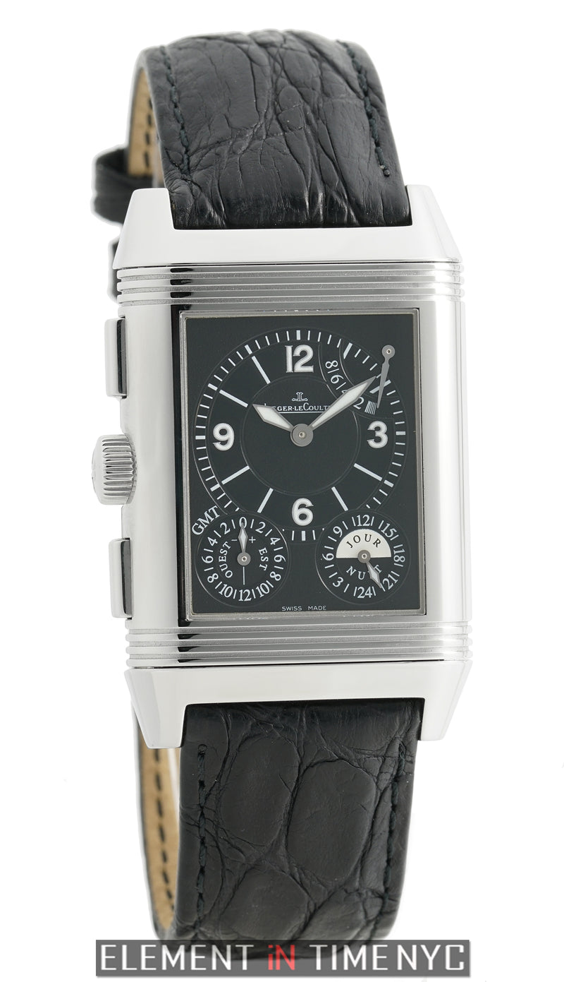 Reverso Grande GMT 8 Days 29mm Stainless Steel