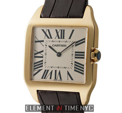 Santos Dumont 18k Yellow Gold Mechanical 35mm