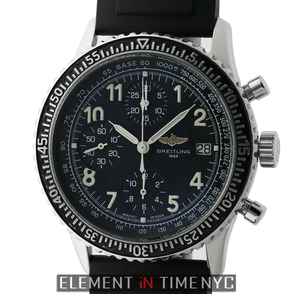 Aviastar Chronograph Stainless Steel Black Dial 42mm