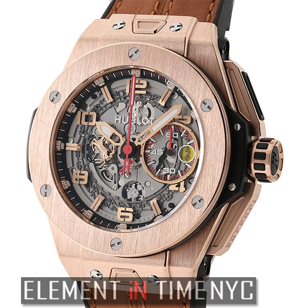 Ferrari King Gold 45mm 18k Rose Gold Limited Edition