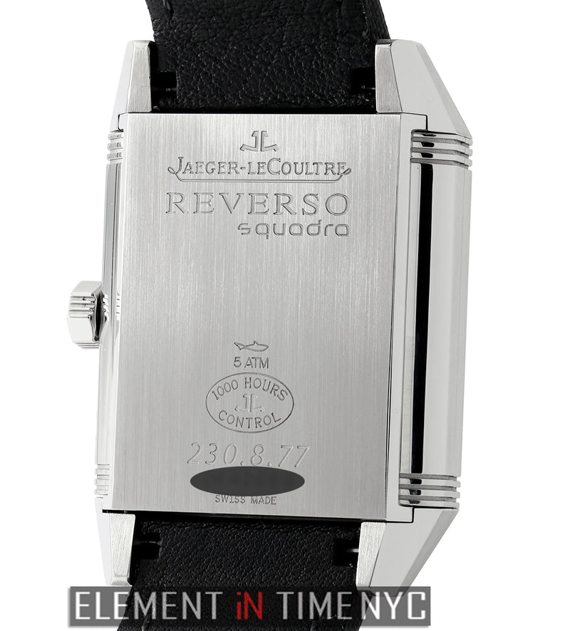 Reverso Squadra Hometime 35mm Stainless Steel