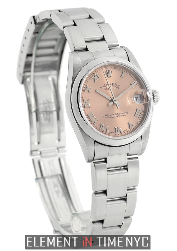 Mid-Size 31mm Stainless Steel Salmon Roman Dial 2000