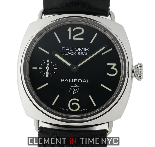 Radiomir Black Seal Logo 45mm Stainless Steel 2012