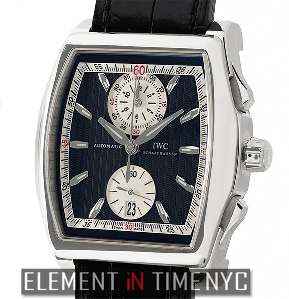 Stainless Steel Tonneau Chronograph 43mm