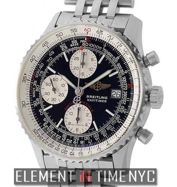 Breitling Fighters Chronograph Steel 42mm Black Dial 2003
