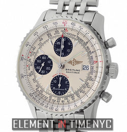 Breitling Fighters Chronograph Steel 42mm Panda Dial 2004