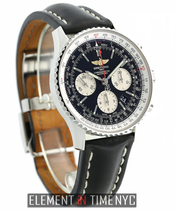 Navitimer 01 Chronograph Black Dial 43mm