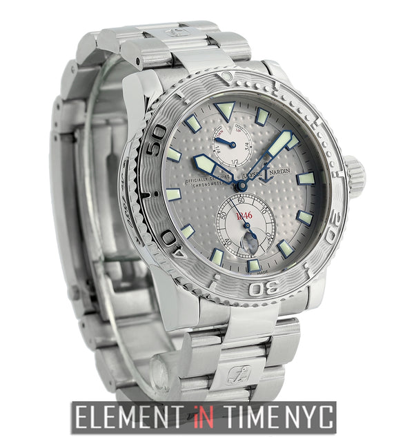 Chronometer Stainless Steel Grey Dial 43mm