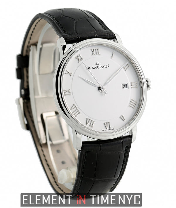 Ultra Slim Automatic 40mm White Dial