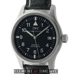 Pilot Mark XV 38mm Stainless Steel Black Dial