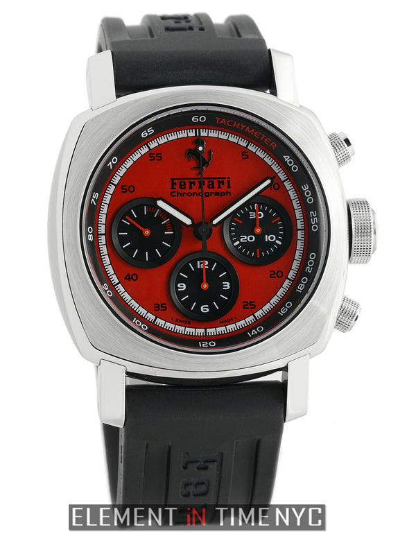 Granturismo Chronograph 45mm Red Dial